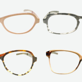 Brillen von ringsum
